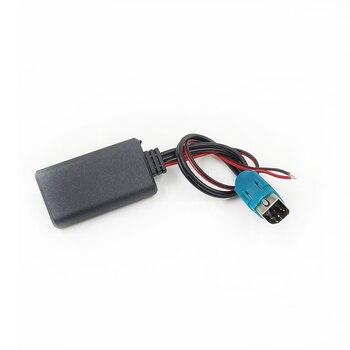 Bestolink-Adaptador de entrada de Cable auxiliar de Audio, Bluetooth, MP3 para Alpine...