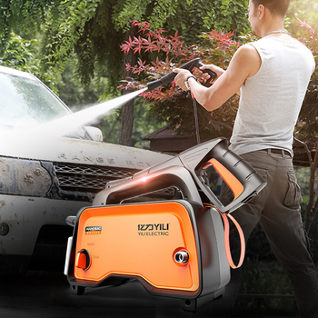 High Pressure Washer Lithium Battery Wireless Washing Machine Flush Pump Portable Water Gun High Power Household Cleaning Tools car washer 220v household high pressure cleaner self suction cleaner water jet brush pump self washing pump