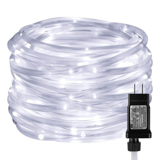 Led Rope Lights With Timer 8 Modes Low