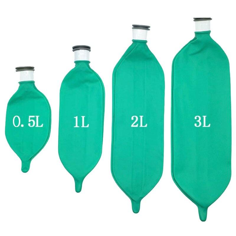 Wondcon anestezjologia respirator jednorazowa lateksowa torba oddechowa 0.5L 1L 2L 3L znieczulenie maszyna oddychająca poduszka powietrzna