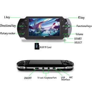 Image 5 - وحدة تحكم بجهاز لعب محمول بشاشة 4.3 بوصة mp4 لاعب MP5 لعبة لاعب حقيقي 8 جيجابايت دعم ل 8Bit 16bit 32bit الألعاب ، كاميرا ، فيديو ، الكتاب الإلكتروني