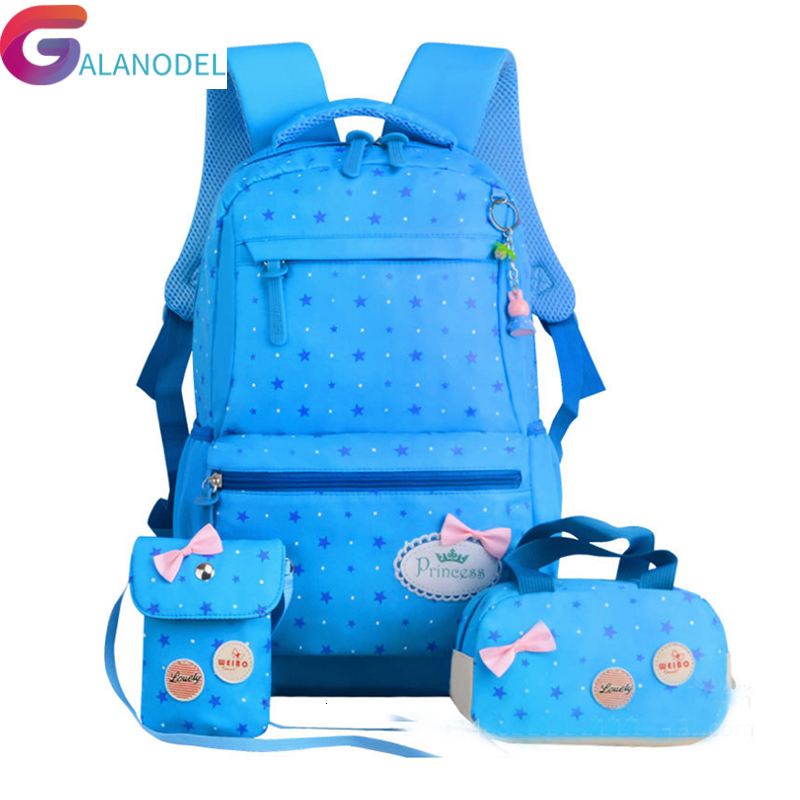 For Star Printing Children Backpacks ZIRANYU Teenagers Girls Lightweight Waterproof School Bags Child Orthopedics Schoolbags