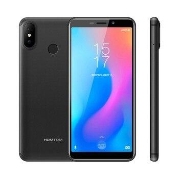 "HOMTOM C2 SmartPhone 2GB RAM 16GB ROM 5.5"" 4G LTE Telephone MTK6739 Quad Core Android 8.1 8.0MP Fingerprint Face ID Mobile Phone"