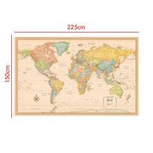 Карта мира Классическое Издание нетканый виниловый спрей карта без национального флага 150x225 см
