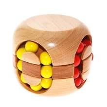 3d ручной работы винтажные ming замок Любань блокировки деревянные