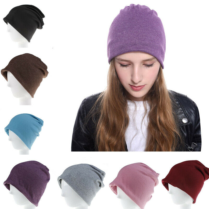 Hats Jersey Beanie Hat Lightweight Thin Stretch Slouch Cap Summer Festival Ladies Men Winter Hats Christmas Gifts шапка женская