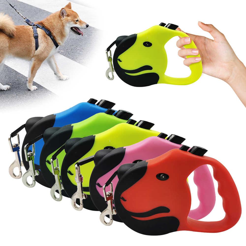 3M/5M Versenkbare Hund Leine Automatische Flexible Hund Welpen Katze Zugseil Gürtel Hund Leine für Kleine medium Hunde Pet Produkte