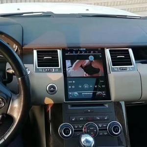 Image 5 - טסלה מסך לנד רובר ריינג רובר ספורט L320 2010 2011 2012 2013 רכב אנדרואיד מולטימדיה נגן 10.4 אינץ רכב רדיו GPS