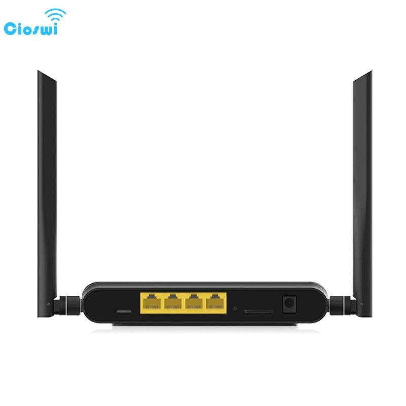 Cioswi sans fil 3G 4G Lte voiture voyage routeur Wifi avec fente pour carte SIM matériel de chien de garde empêcher la chute en ligne bonne Dissipation thermique