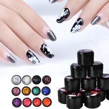 Biutee 12 zestaw kolorów 8ml żel do tłoczenia paznokci polski światło ultrafioletowe Cure Manicure płyta drukuj Gellak Soak Off BIUTEE Poly zestaw lakierów żelowych