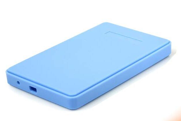 Portable 2.5 Inch 13mm Ultra Slim USB 2.0 SATA HD HDD Hard Drive External Enclosure Mobile Disk Case Box For Desktop And Laptop