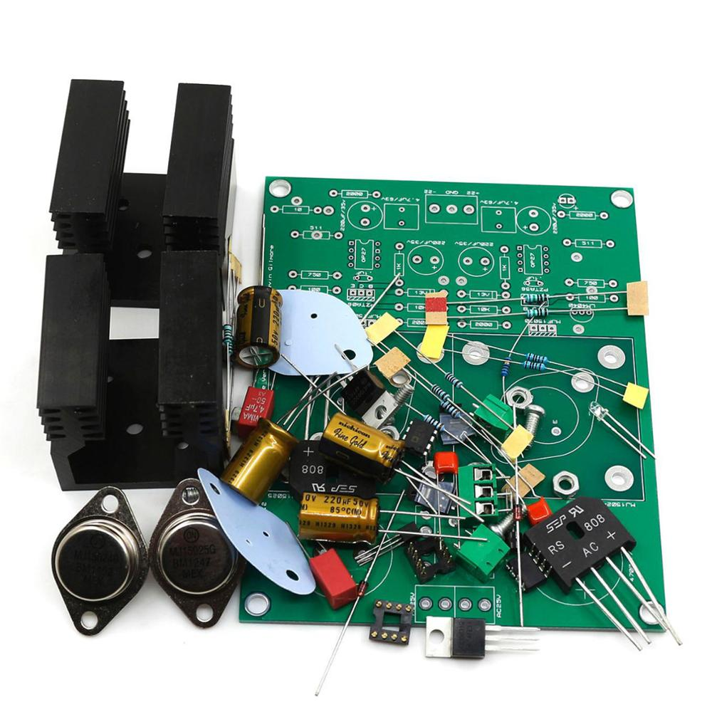 KG Version KSA5 Headphone Amp Kits DIY Board Regulated Power Supply Board DC21V