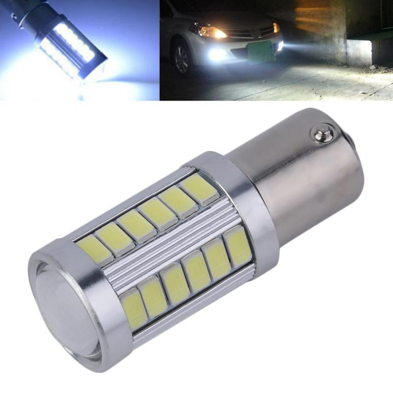 Universal 1156 7506 BA15S P21W 5630 5730 LED Car Tail Bulb Brake Lights DC 12V Auto Reverse Lamp Daytime Running Signal Light