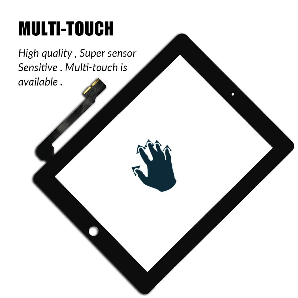 Сенсорный экран для iPad 3 4 iPad3 iPad4 A1416 A1430 A1403 A1458 A1459 A1460-4