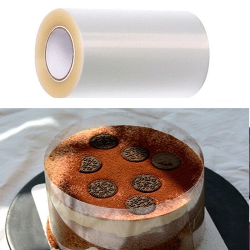 323.05руб. 20% СКИДКА|1 рулон практичного Мусса оберточная лента для украшения торта воротник рулон 5 м мусс окружающий ацетатная пленка аксессуары для выпечки Инструменты|  - AliExpress