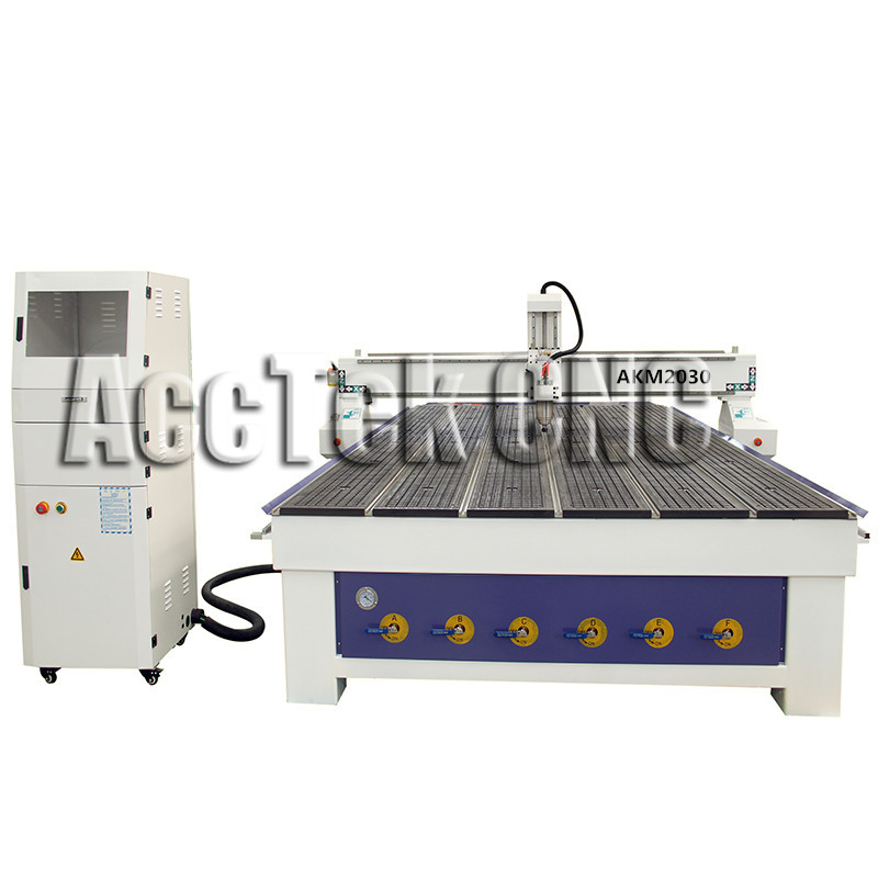 Cheap Solid Wood Cutting Cnc Router Machine AKM2030 Wood Center Table For Living Room