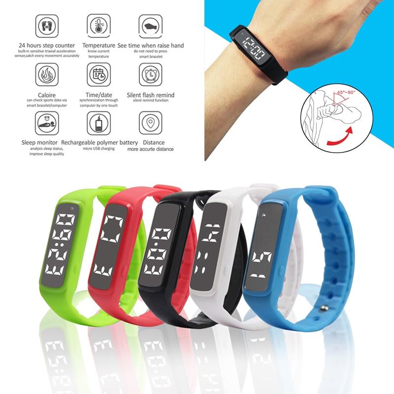 Pedometer Counter Digital LCD Run Step Multifunction Walking Distance Calorie