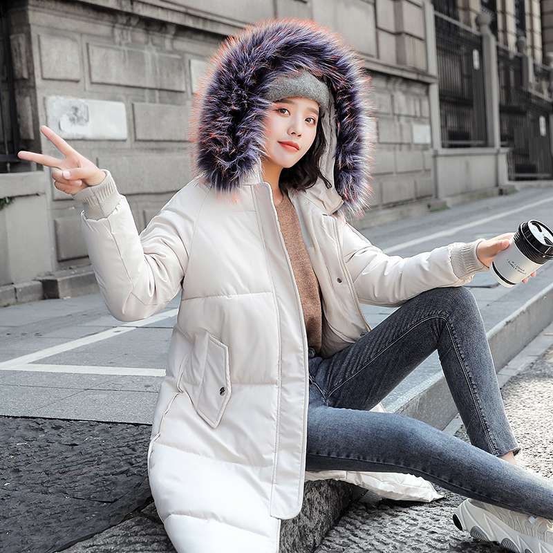 Winter Jacket women Plus Size Womens Parkas Thicken Outerwear solid hooded Coats long Female Slim Cotton padded coats