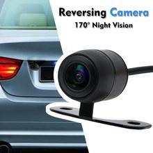 170 градусов Автомобильная камера заднего вида, комплект, камера для просмотра, светодиодный, ночное видение, Реверсивный, автомобильный парковочный монитор, водонепроницаемый, HD видео