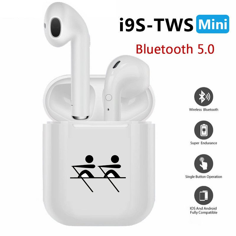 I9s Tws Wireless Headphones Bluetooth Earphones Earbuds Stereo Sound Headset Ship People Tacit Understanding Rowing Boat Bluetooth Earphones Headphones Aliexpress