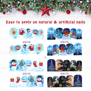 Image 5 - 3D Nail Stickers For Nails Pop Cartoon Pattern Sliders For Nails Adhesive DIY Manicure Tips Nail Art Sticker Manicure Decoration