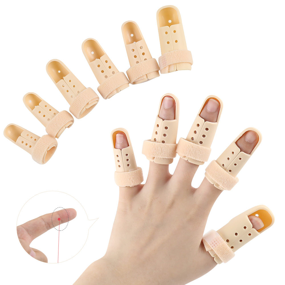 Men And Women Fixed Finger Stall Basketball Finger Extensor Tendon Fracture Hand Zhi Guan Jie Tuo Wei Fixed Finger Splint Protec