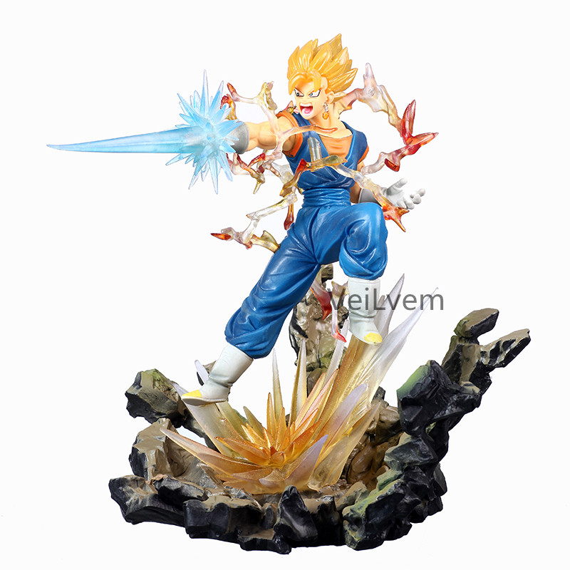 22CM figurine Dragon Ball Super végétto bleu PVC figurine jouets Dragon Ball Z Goku végéta SSJ Vegito modèle poupées