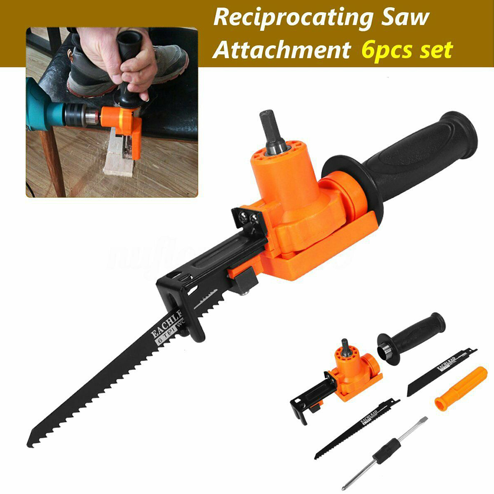 Power Tool Attachment Accessories Reciprocating Saw Home Adjustable Electric Drill Portable Non-Slip Cutting Wood Adapter DIY