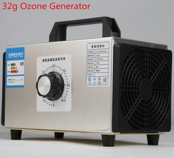 Nouveau 220V générateur d'ozone 32 g/h ozoniseur purificateur d'air maison nettoyant stérilisateur traitement désinfection stérilisation Ozono supprimer