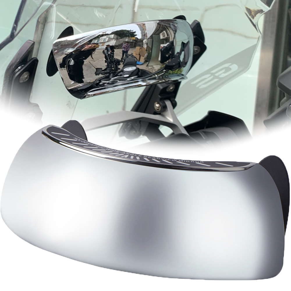 For KYMCO Downtown <font><b>DT</b></font> 200i 300i 350i 125 200 250 350 Xciting 250 300 400 400S <font><b>500</b></font> wide-angle Mirror 180 Degree Rearview Mirrors image