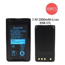 10X Kenwood KNB-35L Battery Replacement for (2000mAh, 7.4V, Li-ion)  TK-3360, TK-3160, TK-2170, KNB-57L, TK-2360, NX-320