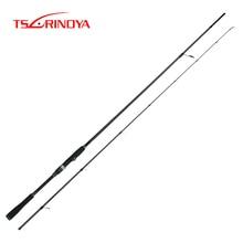 TSURINOYA DETECTIVE Lure Fishing Rod 2.4m 2.7m 3m 3.3m Carbon Spinning Rod M Power Long Casting Fishing Pole for Sea Bass Pesca