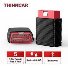 Thinkcar Pro Optional 5 Auto Marken 1 Jahr Freies Obd2 Diagnose Werkzeuge Volle Systeme Auto Scanner Bluetooth IOS 15 Reset dienstleistungen