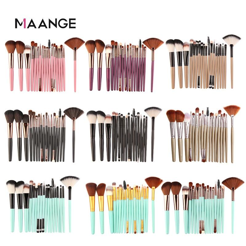 Maange 18-Piece Eye Makeup Brush Set Beauty Tools
