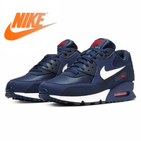 Original Authentic NIKE AIR MAX 90 ESSENTIAL Men's Running Shoes Fashion Outdoor Sports Shoes Comfortable and Durable AJ1285 403