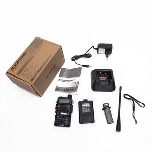 Image 5 - Baofeng UV 5R Walkie Talkie 1800/3800mAh 5W VHF UHF UV5R taşınabilir amatör radyo UV 5R CB radyo istasyonu NA 771/taktik anten
