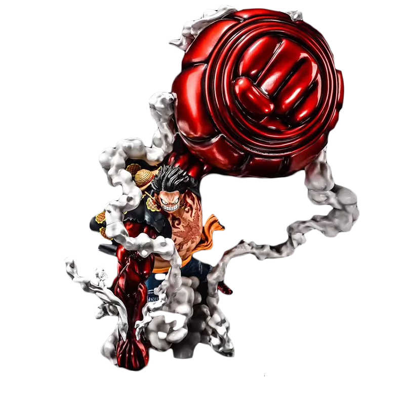 25CM Figurine One Peace Luffy Gear 4 Ultra-Réaliste
