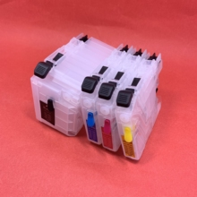 Refillable LC529 LC525 ink cartridge LC529XL LC525XL for Brother DCP-J100 DCP-J105 MFC-J200