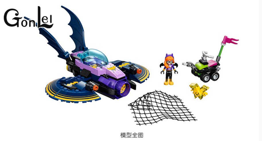 Compatible with Legoinglys 10615 NEW DC Marvel Avengers Super Heroes Girl Friends Series Batman Jet Aircraft Building Block Toys