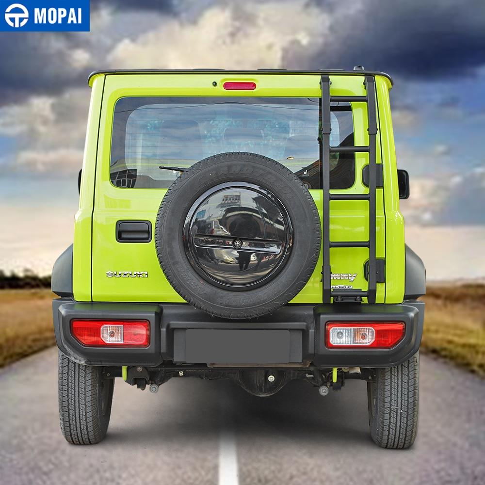 Image 3 - MOPAI Protective Frames for Suzuki Jimny JB74 2019+ Car Rear Door Tailgate Ladder Accessories for Suzuki Jimny 2019+Protective Frames   -