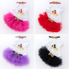 Детские платья для девочек 2020, вечерние платья-пачки для девочек на первый день рождения, одежда для крещения для маленьких девочек 1 год, ...