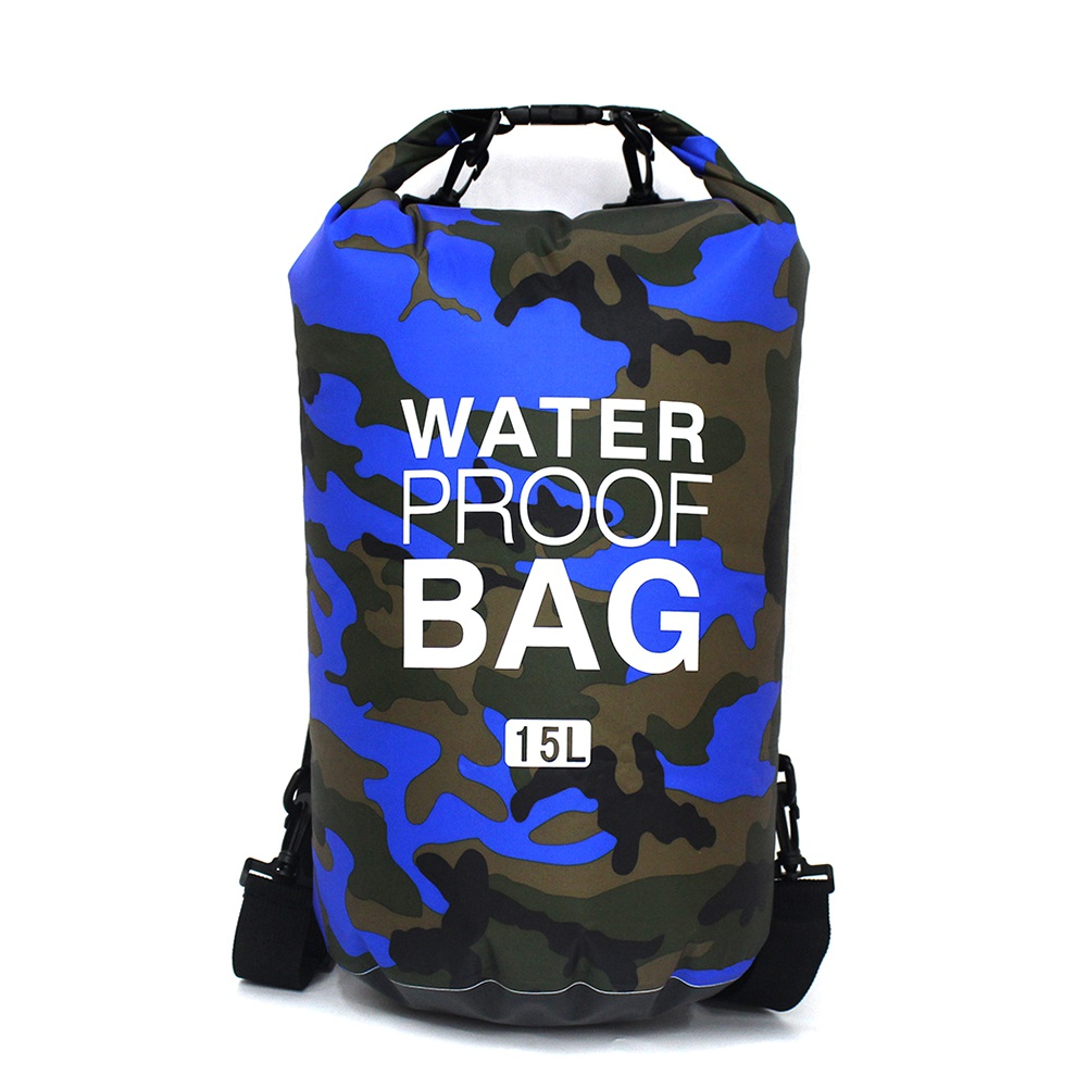 Backpack - Outdoor 15L 20L 30L Ultralight Camping Dry Organizer Drifting Portable Durable Swimming Waterproof Bag