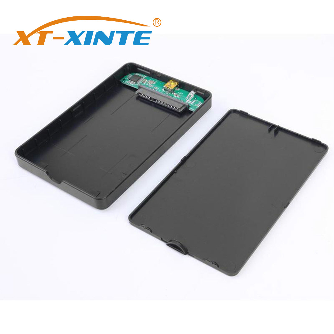 XT-XINTE 2.5inch HDD SSD Case Sata To USB 3.0 2.0 Adapter Free 5Gbps Box Hard Drive Enclosure For WIndows For Mac OS Support 2TB