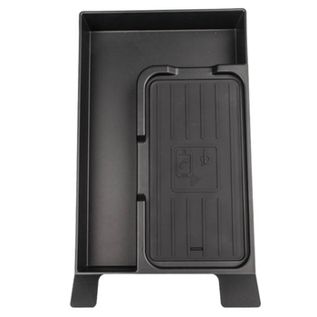 Car Wireless Charger Charging Board Central Handrail Box Storage Box QI Cover Covers Car Accessories for Lexus NX 2017 2018 2019