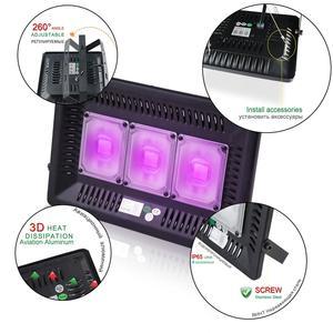 Image 2 - Luz LED para discoteca Dj, lámpara UV con efecto de escenario, ultravioleta, negro, Par, fiesta láser KTV, Navidad, Halloween, foco, enchufe para máquina de humo