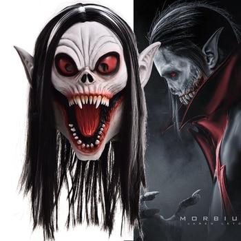 Horror Vampire Morbius Mask Cosplay Scary Dark Doctor Zombie Latex Masks Helmet Halloween Party Costume Props New halloween costume party kurten demon zombie scary vampire mask
