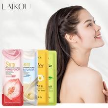 NEW Strawberry Peach Shea Butter Milk Exfoliating Peeling Gel Body Scrub Moisturizing Whitening Nourishing Scrub SkinCare Cream