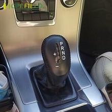 Auto Versnellingspook Hoofd Mouw Knoppen Covers Voor Volvo S60 2014 Interieur Accessoires Beschermende Trim Handrem Grip Case
