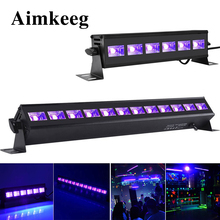 6LED 9LED 12LED Disco UV Black Lights DJ 36 W Par Lamp UV Party Kerst Bar Licht Laser Podium Licht UV Wall Washer Spotlight