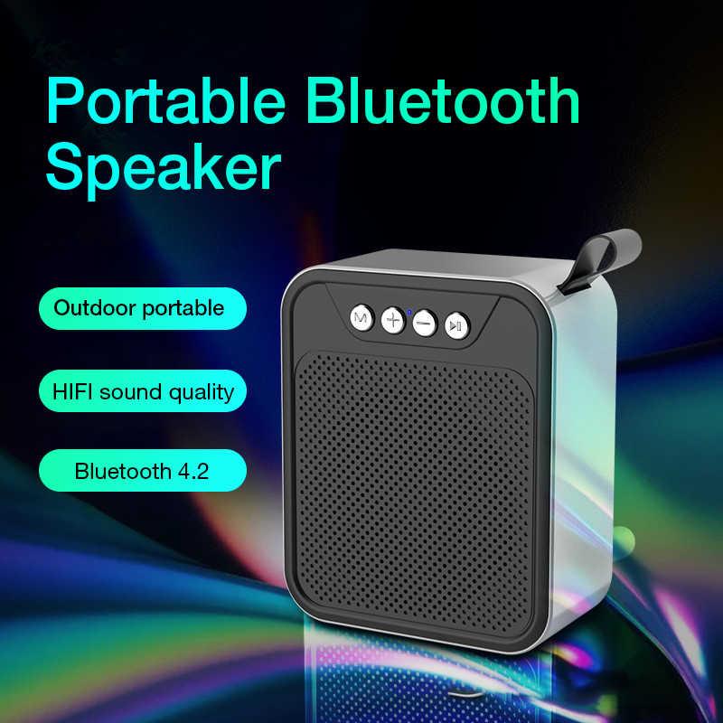 KUSDO Mini Bluetooth Lautsprecher Tragbare Drahtlose Lautsprecher Sound System 3D Stereo Musik Surround Unterstützung Bluetooth, Tf-karte AUX USB